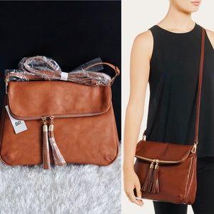 ✨New BP NORDSTROM Foldover Tassel Crossbody Bag